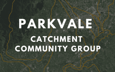 Parkvale Catchment Group: Your chance to make a difference