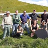 Sustainable Wairarapa group at Pontatahi Lizard Sanctuary