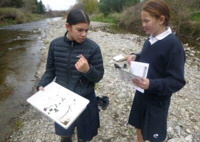 Te Kura Kaupapa Māori o Wairarapa students check water quality