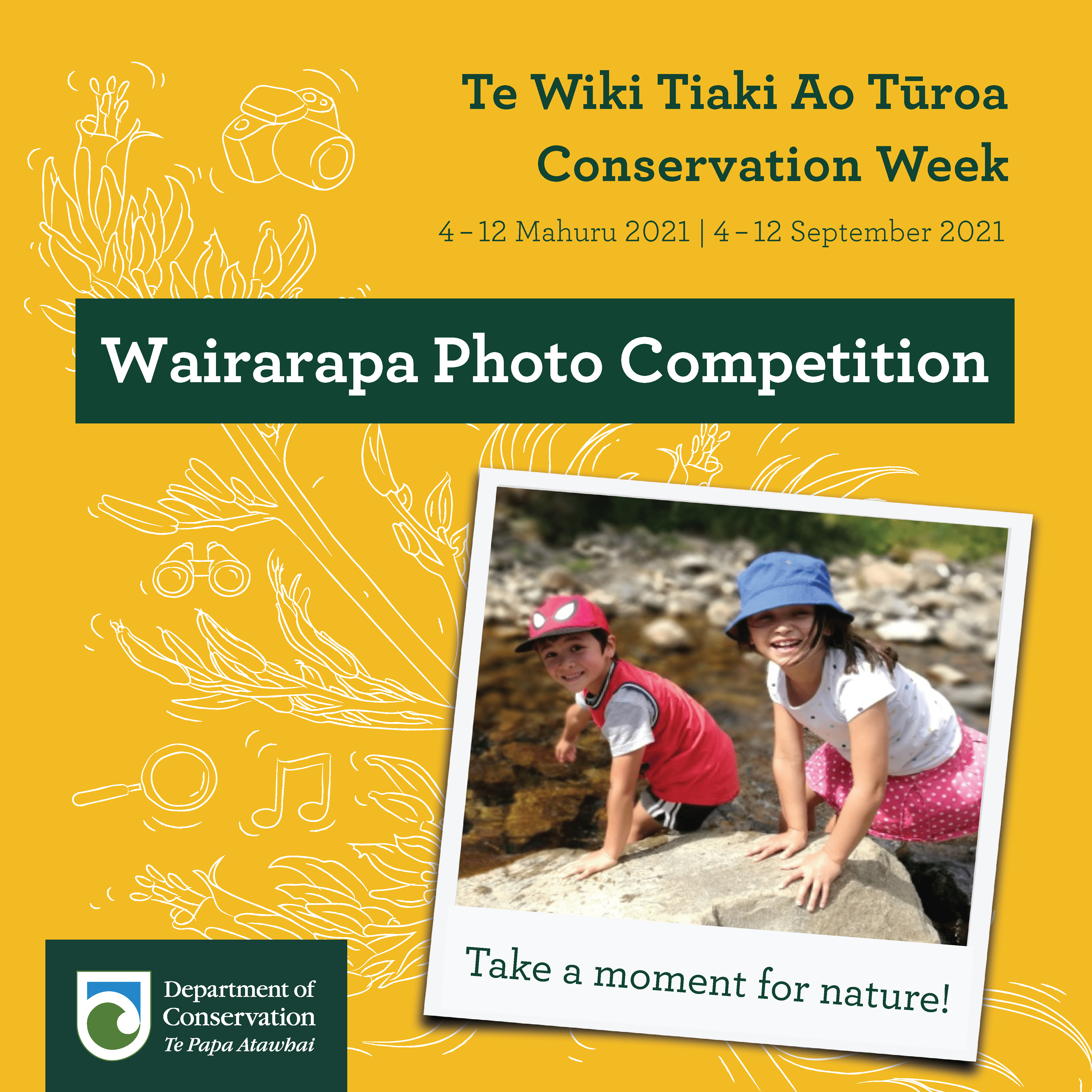 Wairarapa Conservation Week Photo Competition Social Tile FINAL 01